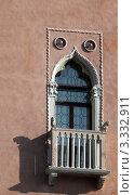 Купить «Венеция. Окна палаццо», эксклюзивное фото № 3332911, снято 14 февраля 2012 г. (c) Татьяна Лата / Фотобанк Лори