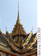 Королевский дворец. Бангкок, Таиланд (2011 год). Стоковое фото, фотограф Рачия Арушанов / Фотобанк Лори