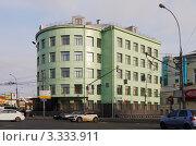 Купить «Офисное здание на Таганской площади в Москве», фото № 3333911, снято 8 марта 2012 г. (c) Андрей Ерофеев / Фотобанк Лори