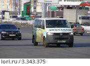 """Купить «Машина """"Зоотакси"""". Щелковское шоссе. Москва», эксклюзивное фото № 3343375, снято 8 марта 2012 г. (c) lana1501 / Фотобанк Лори"""
