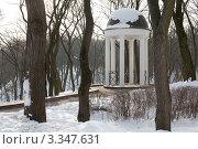 Купить «Беседка в парке», фото № 3347631, снято 25 января 2010 г. (c) Михаил Ястребов / Фотобанк Лори