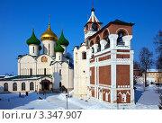 Купить «Спасо-Евфимиев мужской монастырь в Суздале», фото № 3347907, снято 8 марта 2012 г. (c) Яков Филимонов / Фотобанк Лори
