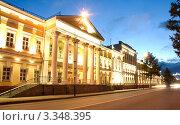 Купить «Город Омск, Омский кадетский корпус», фото № 3348395, снято 23 июня 2009 г. (c) Виктор Топорков / Фотобанк Лори