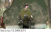 Купить «Пулемет «Максим»», видеоролик № 3349611, снято 9 июля 2020 г. (c) Михаил / Фотобанк Лори