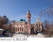 Купить «Тверь. Тверская соборная мечеть», фото № 3363243, снято 10 марта 2012 г. (c) Ольга Денисова / Фотобанк Лори