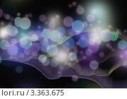 Купить «Абстрактный фон с эффектом боке», иллюстрация № 3363675 (c) Марина / Фотобанк Лори