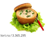 Купить «Картофельный суп с грибами», фото № 3365295, снято 18 марта 2012 г. (c) Марина Сапрунова / Фотобанк Лори