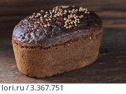 Бородинский хлеб. Стоковое фото, фотограф Елена Корнеева / Фотобанк Лори