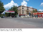 Купить «Советская улица. Московская область, Балашиха», эксклюзивное фото № 3371375, снято 19 июля 2011 г. (c) lana1501 / Фотобанк Лори