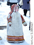 Купить «Ненецкий ребенок в малице», фото № 3384627, снято 24 марта 2012 г. (c) Людмила Костинева / Фотобанк Лори