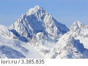 Купить «Домбай. Северный Кавказ», эксклюзивное фото № 3385835, снято 21 января 2012 г. (c) Rekacy / Фотобанк Лори