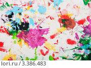 Купить «Акриловые краски на холсте. Абстрактная композиция.», фото № 3386483, снято 26 марта 2012 г. (c) Александр Куличенко / Фотобанк Лори