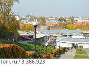 Купить «Вид на город с Иерусалимской горы. Иркутск», фото № 3386923, снято 24 сентября 2011 г. (c) Юлия Батурина / Фотобанк Лори
