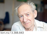Купить «Улыбающийся старый мужчина», фото № 3388843, снято 14 января 2012 г. (c) Анна Лурье / Фотобанк Лори