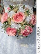 Купить «Букет невесты», фото № 3388907, снято 20 августа 2010 г. (c) Пересыпкина Елена Игоревна / Фотобанк Лори