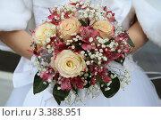Купить «Букет невесты», фото № 3388951, снято 14 октября 2011 г. (c) Пересыпкина Елена Игоревна / Фотобанк Лори