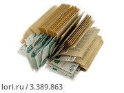 Банкноты в 1000 рублей между страницами книги. Стоковое фото, фотограф Vladimir Shashkin / Фотобанк Лори