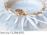 Свадебные кольца. Стоковое фото, фотограф Sasha Snegireva / Фотобанк Лори
