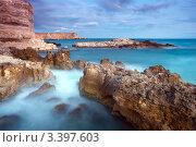 Купить «Красивый морской пейзаж», фото № 3397603, снято 14 июля 2009 г. (c) Sea Wave / Фотобанк Лори