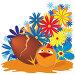 Пасхальный цыпленок, иллюстрация № 3399951 (c) Татьяна Петрова / Фотобанк Лори