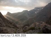 Купить «Горный пейзаж в Таджикистане», фото № 3409359, снято 7 августа 2010 г. (c) Михаил Сафиуллин / Фотобанк Лори