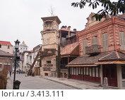 Купить «Театр марионеток Резо Габриадзе. Башня с часами.Тбилиси, Грузия», фото № 3413111, снято 8 января 2011 г. (c) Николай Коржов / Фотобанк Лори