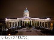 Казанский собор. Стоковое фото, фотограф Андрей Разумов / Фотобанк Лори