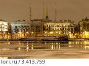 Виды с Университетской набережной (2012 год). Стоковое фото, фотограф Андрей Разумов / Фотобанк Лори