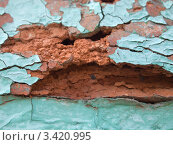 Купить «Разрушенный кирпич», фото № 3420995, снято 8 апреля 2012 г. (c) Константин Босов / Фотобанк Лори