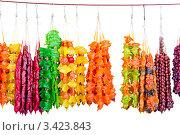Купить «Чурчхела», фото № 3423843, снято 2 апреля 2012 г. (c) Юрий Плющев / Фотобанк Лори