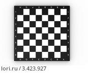 Пустая шахматная доска на белом фоне. Стоковая иллюстрация, иллюстратор Jalin / Фотобанк Лори