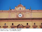 Купить «Здание ФСБ на Лубянке. Москва», эксклюзивное фото № 3424327, снято 2 апреля 2012 г. (c) lana1501 / Фотобанк Лори