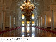 Георгиевский зал. Большой Кремлевский Дворец (2011 год). Редакционное фото, фотограф Луговой Даниил / Фотобанк Лори