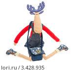 Лось - мягкая игрушка (2012 год). Редакционное фото, фотограф Иван Коваленко / Фотобанк Лори
