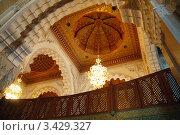 Купить «Интерьер мечети Хассана II в Касабланке», фото № 3429327, снято 13 августа 2008 г. (c) Владимир Горощенко / Фотобанк Лори