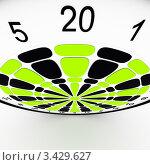 Мишень для игры в дартс. Стоковая иллюстрация, иллюстратор Jalin / Фотобанк Лори