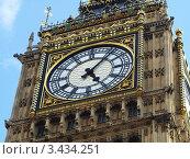 Башня с часами. Лондон. Стоковое фото, фотограф Сергей Жадов / Фотобанк Лори