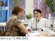 На приеме у доктора. Стоковое фото, фотограф Яков Филимонов / Фотобанк Лори
