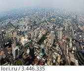 Вид на Бангкок с высоты (2012 год). Стоковое фото, фотограф Анфимов Леонид / Фотобанк Лори