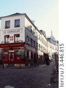 Купить «Ресторан Le Consulat. Париж», фото № 3446815, снято 5 марта 2008 г. (c) Цибаев Алексей / Фотобанк Лори