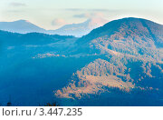 Купить «Осень в горах», фото № 3447235, снято 12 октября 2010 г. (c) Юрий Брыкайло / Фотобанк Лори