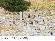 Руины древнего города Аматус, Кипр (2012 год). Стоковое фото, фотограф Миронова Евгения / Фотобанк Лори