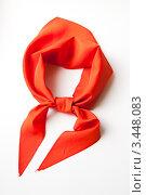 Купить «Пионерский галстук», фото № 3448083, снято 16 апреля 2012 г. (c) Кристина Викулова / Фотобанк Лори