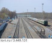 Купить «Железная дорога», эксклюзивное фото № 3449131, снято 30 апреля 2011 г. (c) lana1501 / Фотобанк Лори