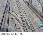 Купить «Железная дорога», эксклюзивное фото № 3449135, снято 30 апреля 2011 г. (c) lana1501 / Фотобанк Лори