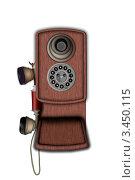 Телефон. Стоковая иллюстрация, иллюстратор Александр Шигалёв / Фотобанк Лори