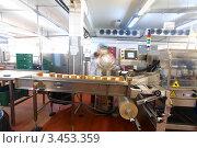 Мясное производство. Стоковое фото, фотограф Михаил Екадомов / Фотобанк Лори