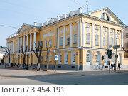Краеведческий музей в Оренбурге, фото № 3454191, снято 14 апреля 2012 г. (c) Вадим Орлов / Фотобанк Лори