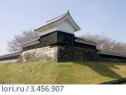 Купить «Угловая башня а замке Сёрюдзи, г.Нагаокакё, Япония», фото № 3456907, снято 2 апреля 2012 г. (c) Иван Марчук / Фотобанк Лори