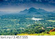 Вид с горы Сигирия (Sigiriya). Шри-Ланка (2010 год). Стоковое фото, фотограф E. O. / Фотобанк Лори